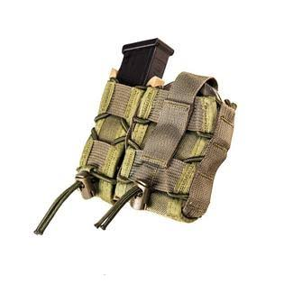 High Speed Gear 11PC00OD Pistol Mag and Handcuff Pouch - Olive Drab Leo Taco