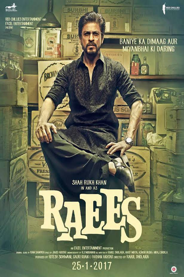 Raees 2017 Full Movie Download WEB HDRip 480p 400MB