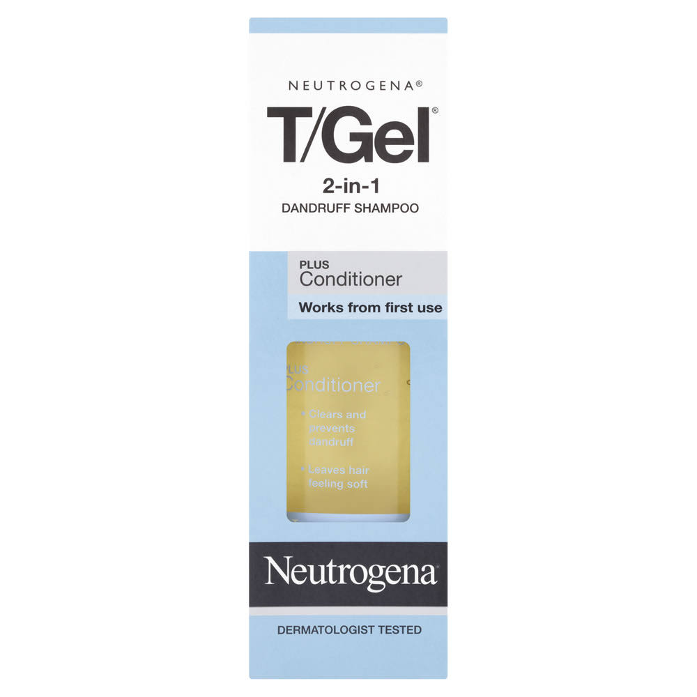 Neutrogena T Gel 2 in 1 Dandruff Shampoo Plus Conditioner - 250ml