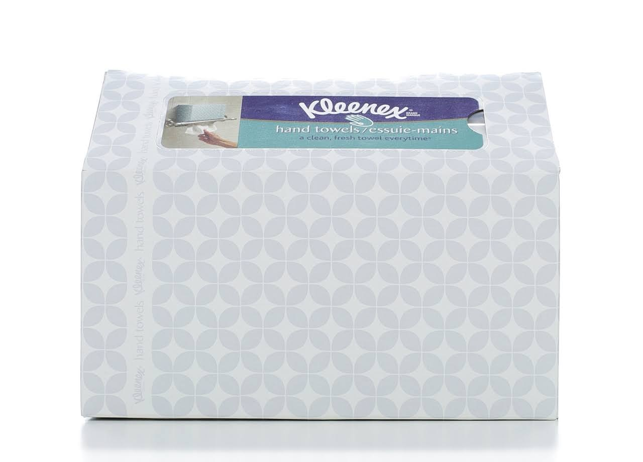 Kleenex White Hand Towels - 60pk