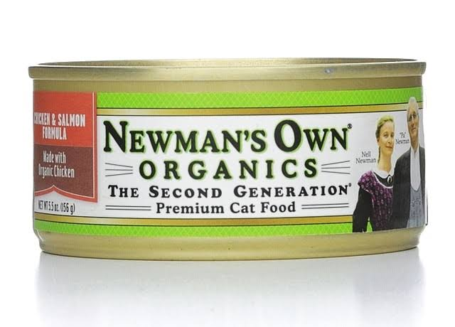 Newman's Own Organics Premium Cat Food - Chicken and Salmon, 5.5oz