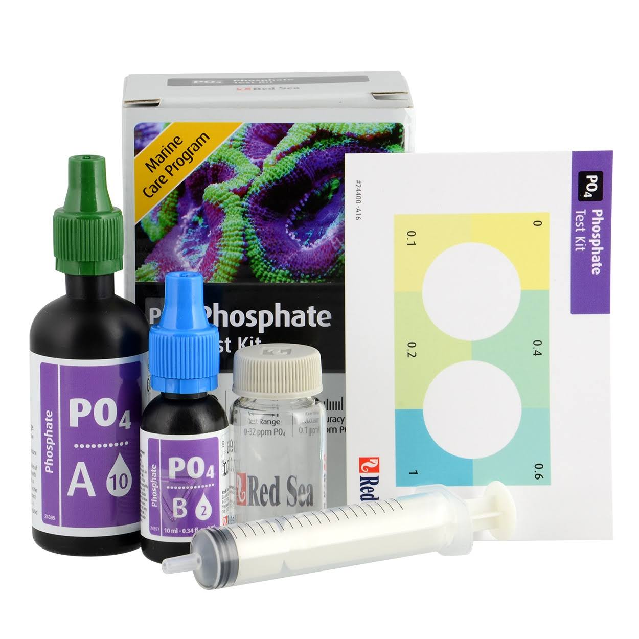 Red Sea MCP Phosphate Test Kit - for Marine and Reef Aquariums