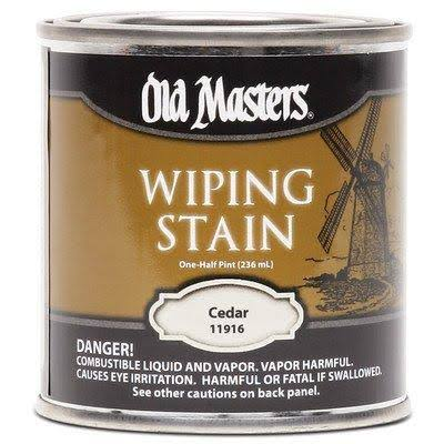 Old Masters 11916 . 50 Pint Cedar Wiping Stain