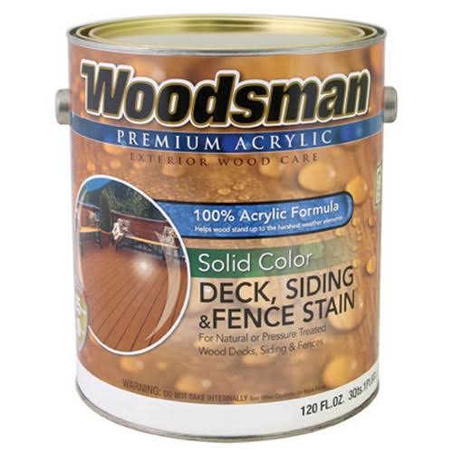 Woodsman Neutral Deck Stain - 1 Gallon