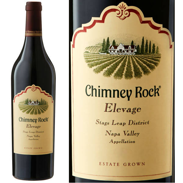 Chimney Rock Elevage Red Wine, Napa Valley (Vintage Varies) - 750 ml bottle