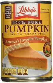 Libbys Pumpkin Pie Mix Ingredients by Amazon Com Libby U0027s 100 Pure Pumpkin 15oz Can Pack Of 6
