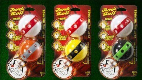 The Original Junk Ball Baseball - 2pk