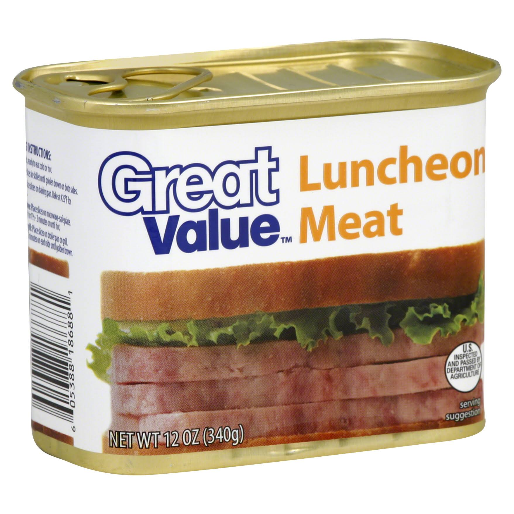 Great Value Luncheon Meat - 340g