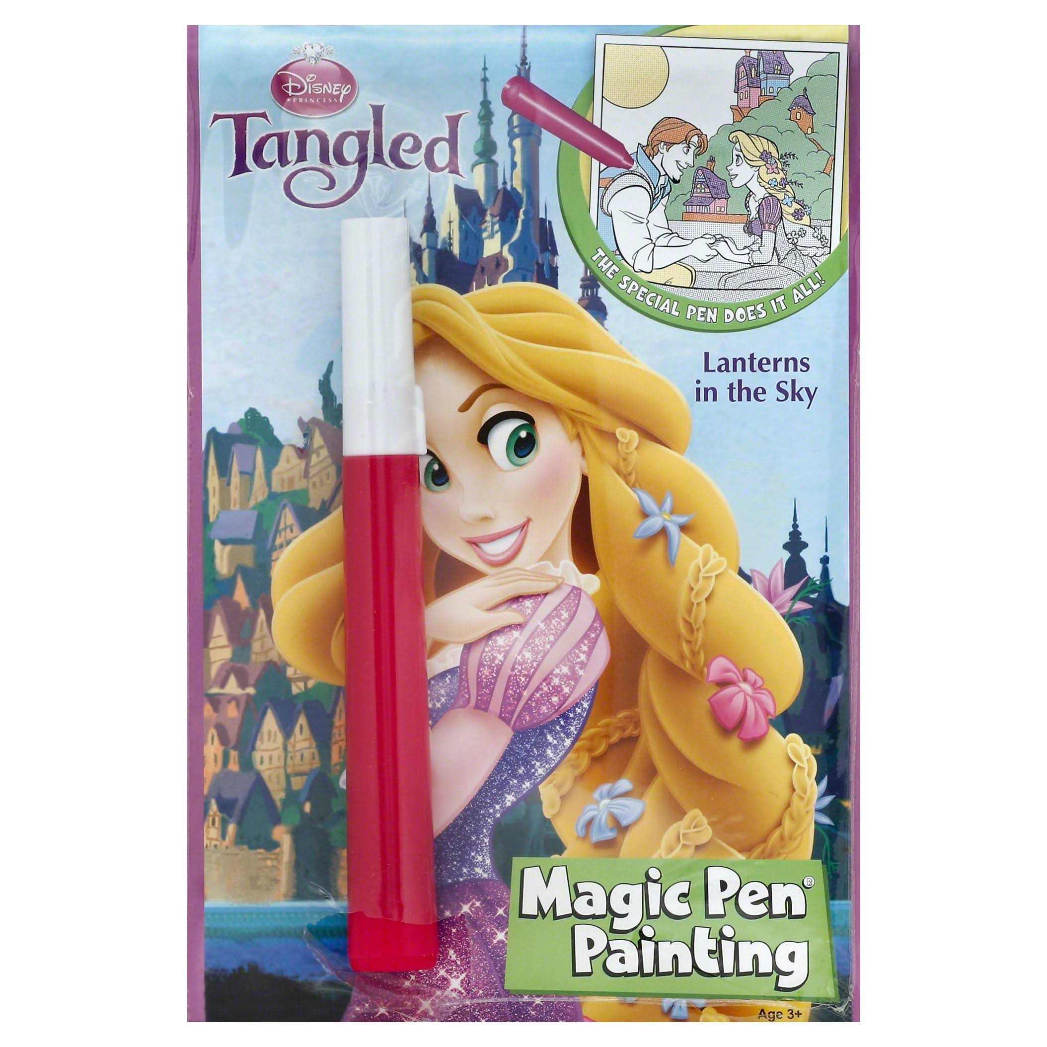 Disney Tangled Magic Pen Painting