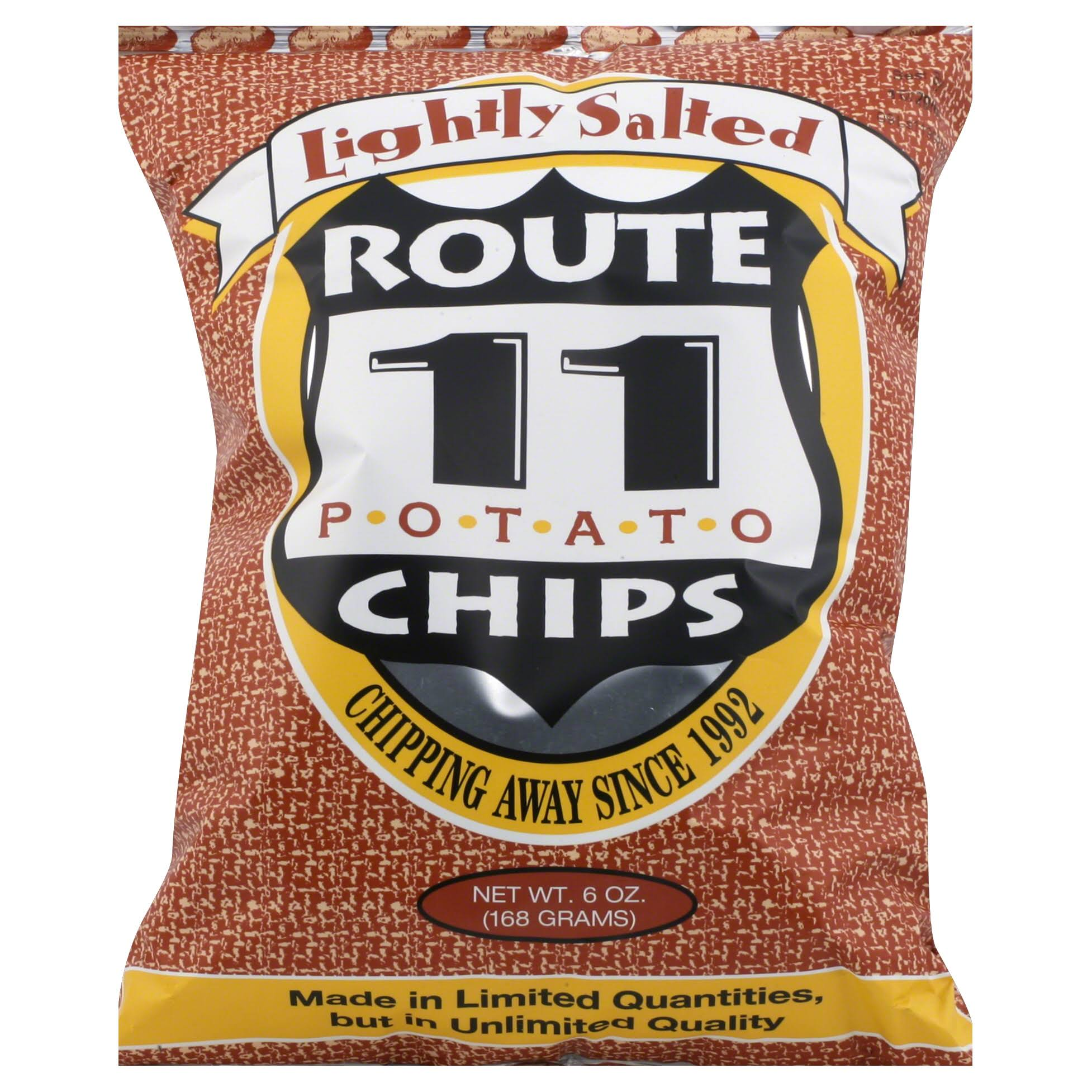 Route 11 Potato Chips - Lightly Salted, 6oz
