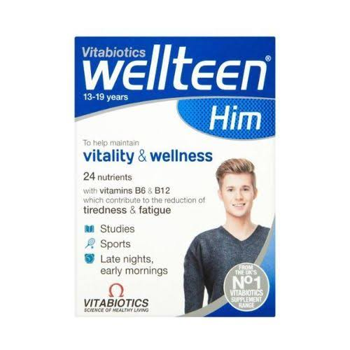 Vitabiotics Wellteen Him Original Supplement - 30 Tablets