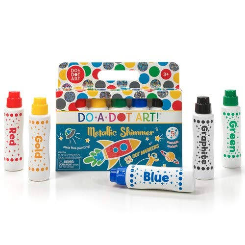 Do-A-Dot Art 5 Pack Metallic Shimmer Markers