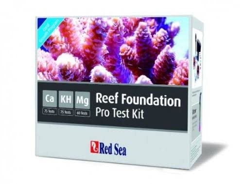 Red Sea Reef Foundation Pro Salt Water Multi Test Kit