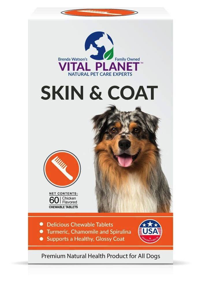 Vital Planet Skin and Coat Chewable Tablets - 60ct