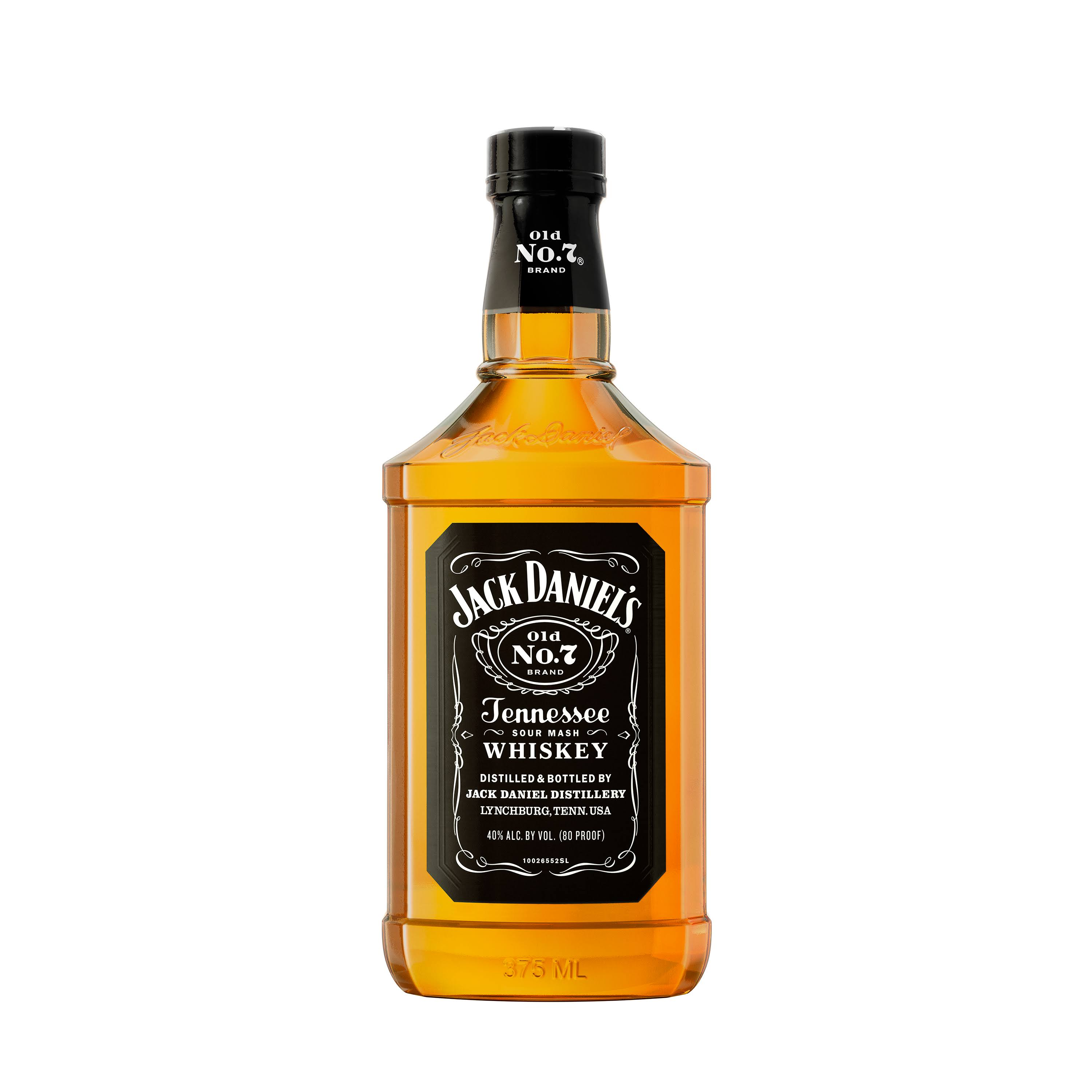 Jack Daniels Old No. 7 Whiskey, Tennessee Whiskey - 375 ml