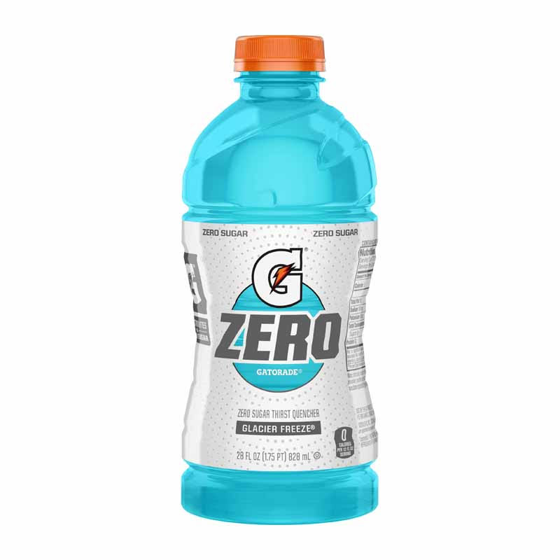 Gatorade G Zero Thirst Quencher, Zero Sugar, Glacier Freeze - 28 fl oz