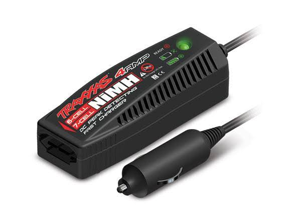 Traxxas DC Quick Charger for NiMH iD Batteries - 4 Amp, 7.2-8.4V