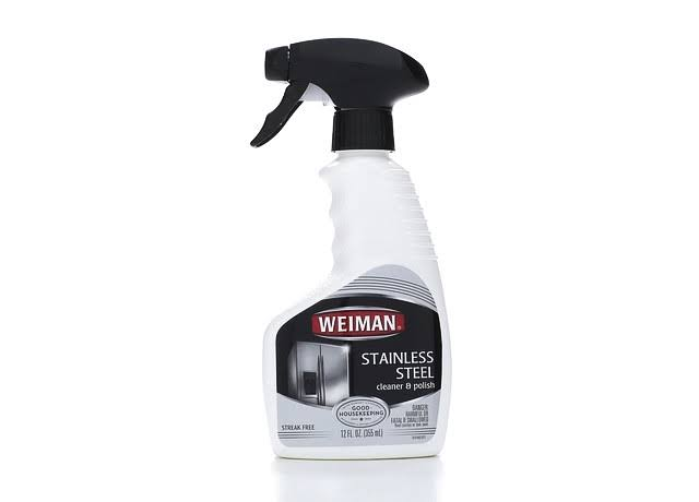 Weiman Stainless Steel Cleaner and Polish Spray - 12oz
