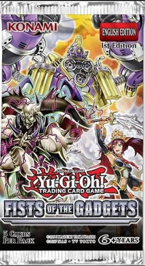 Yugioh: Fists of The Gadgets - Booster Pack
