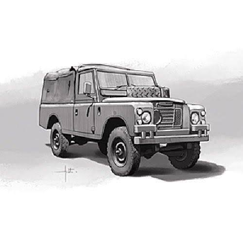 Italeri No. 6508 Land Rover 109' LWB - 1:35 Scale