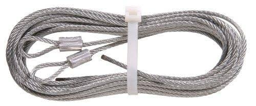 "The Hillman Group 852128 Torsion Spring Lift Cable - Galvanized, 1/8""x8'8"""