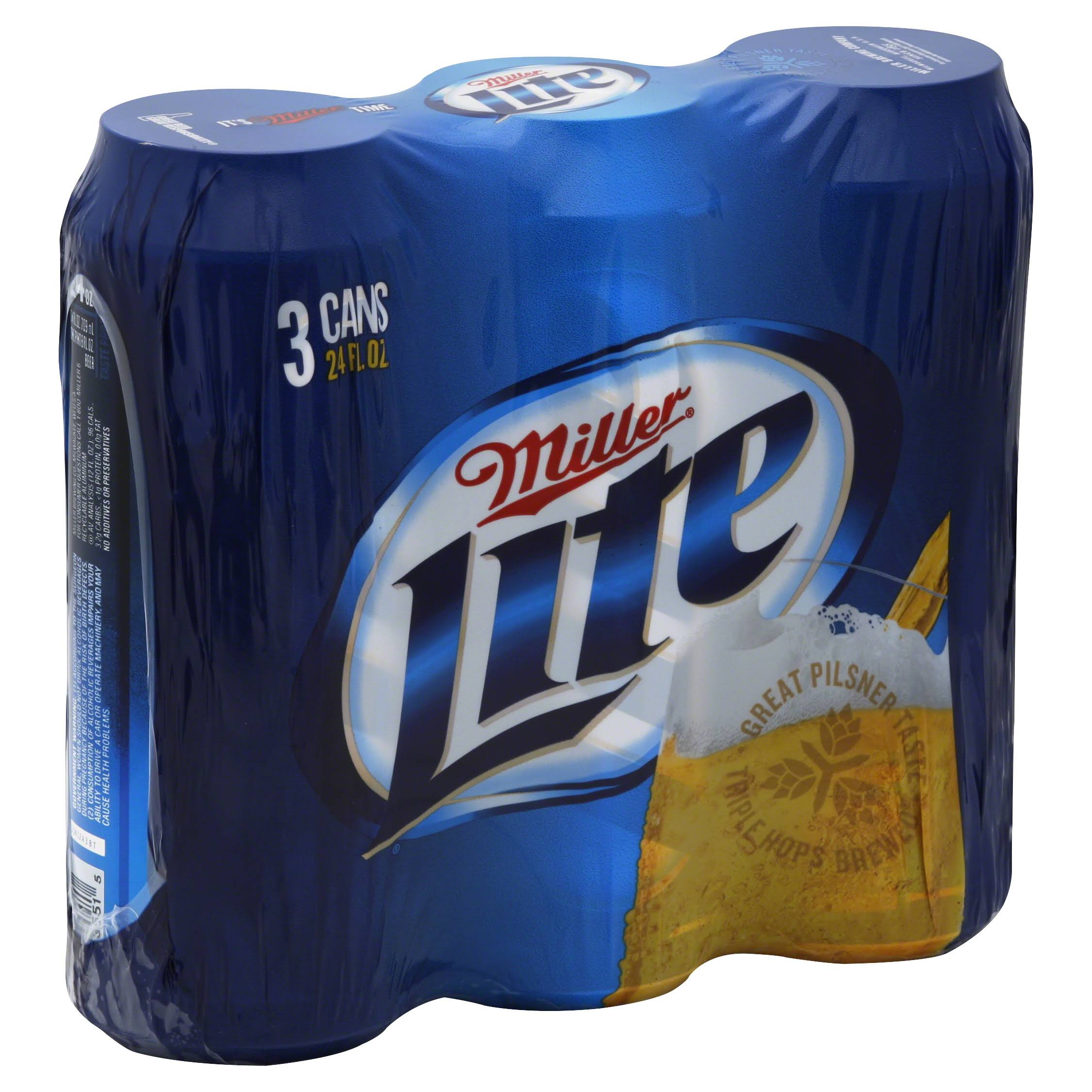 Miller Lite Beer - 24oz
