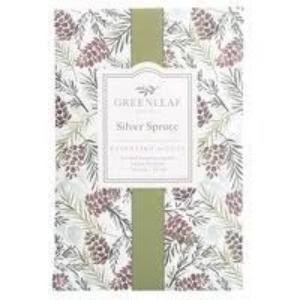 Greenleaf Large Scented Sachet - Silver Spruce - Up to 4 Months - Made in The USA