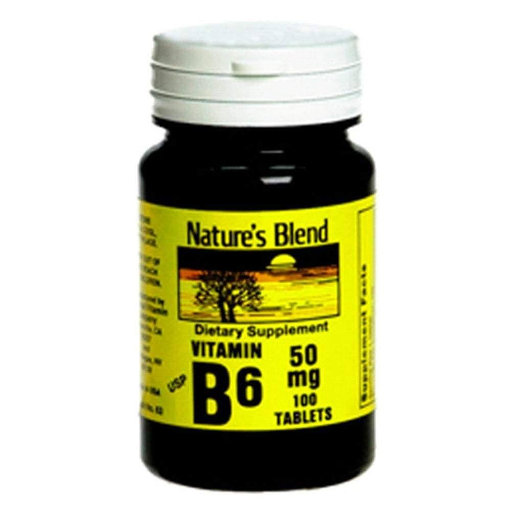 Nature's Blend Vitamin B-6