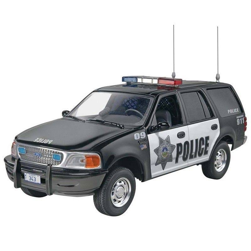 Revell Snaptite S1228 Ford Police Expedition Police Ssv - 1/25 Scale