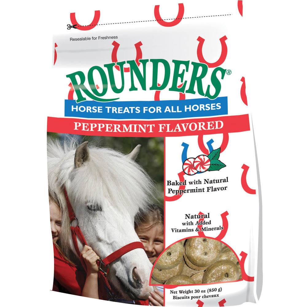 Rounders Horse Treat - Peppermint, 30oz