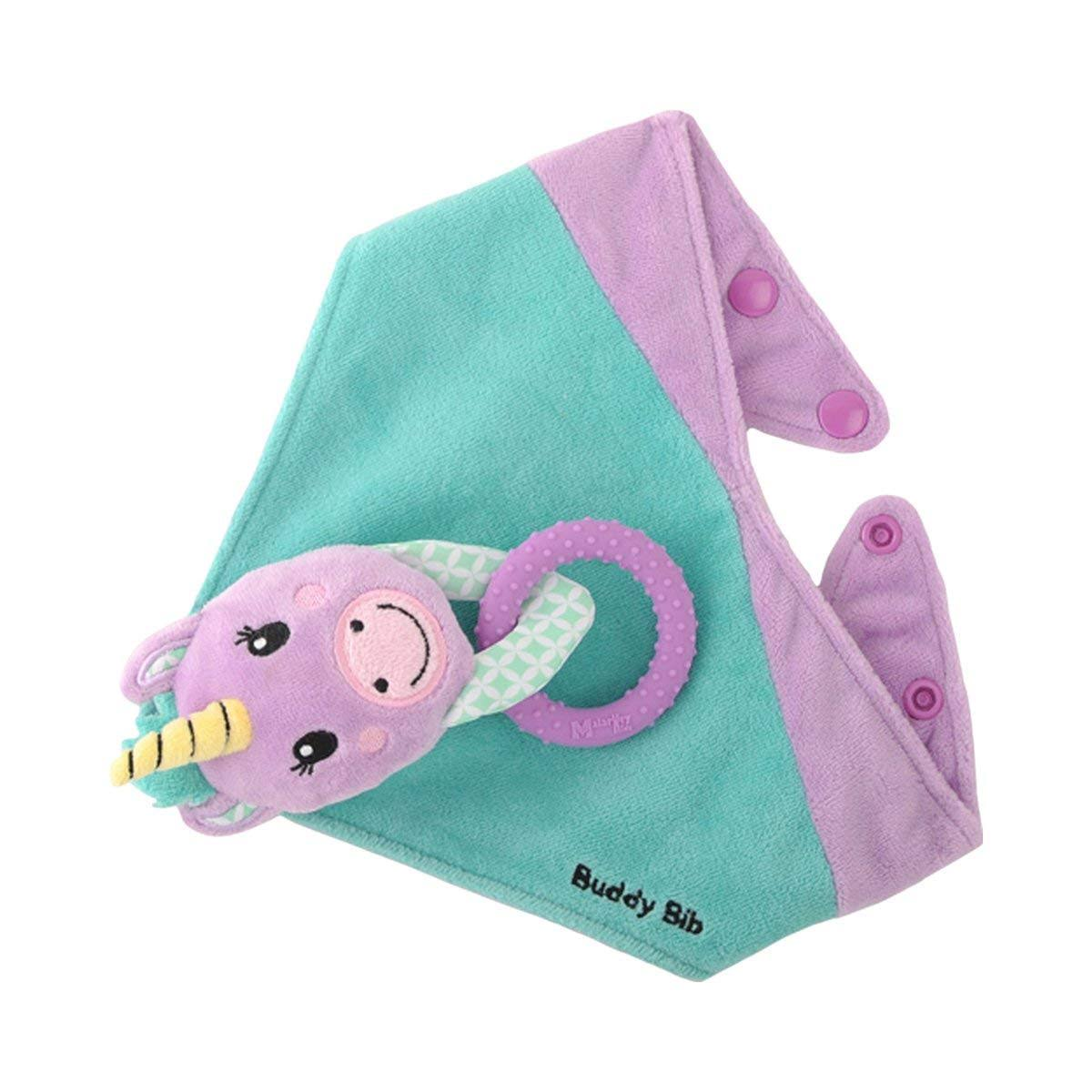 Buddy Bib Unice Unicorn 3 In 1 Bandana Drool Bib