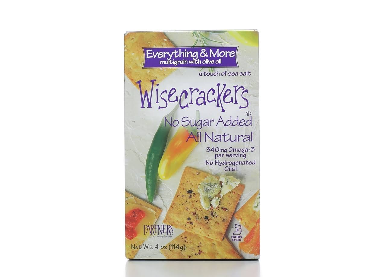 Partners Wisecrackers - Multigrain & Olive Oil, 114g