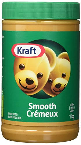 Kraft Peanut Butter - Smooth, 1kg