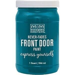 Modern Masters Satin Front Door Paint - 946ml, Tranquil