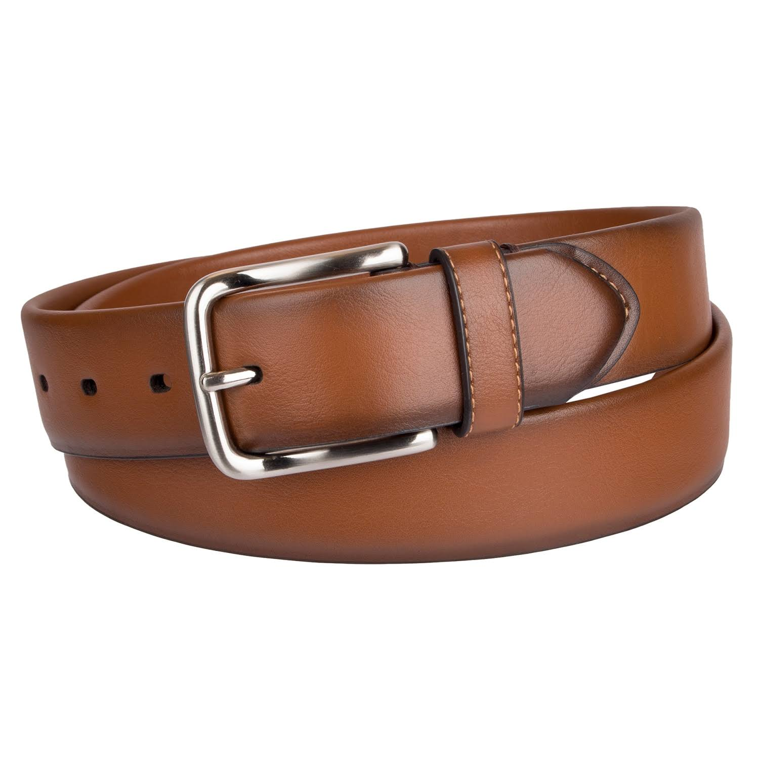 Dockers Men's Stretch Belt, Tan, Size Small