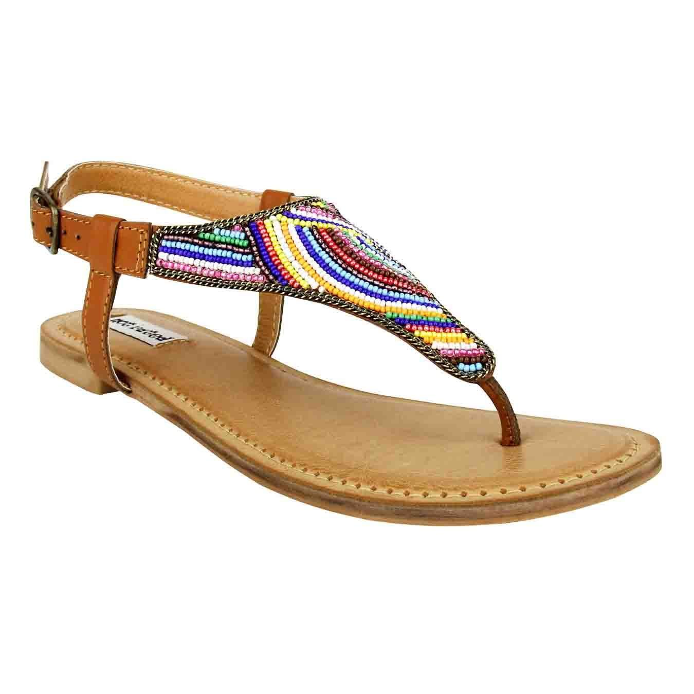 Not Rated Santo Sandals Tan