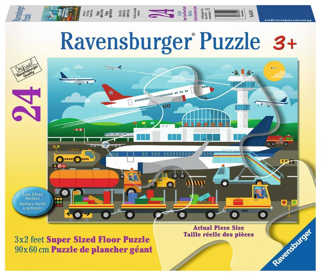 Ravensburger Children's Jigsaw Puzzle - Preparing to Fly, 24pcs