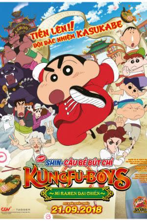 Kết quả hình ảnh cho Crayon Shin-Chan: Bakumori! Kung-Fu Boys - Ramen Tairan