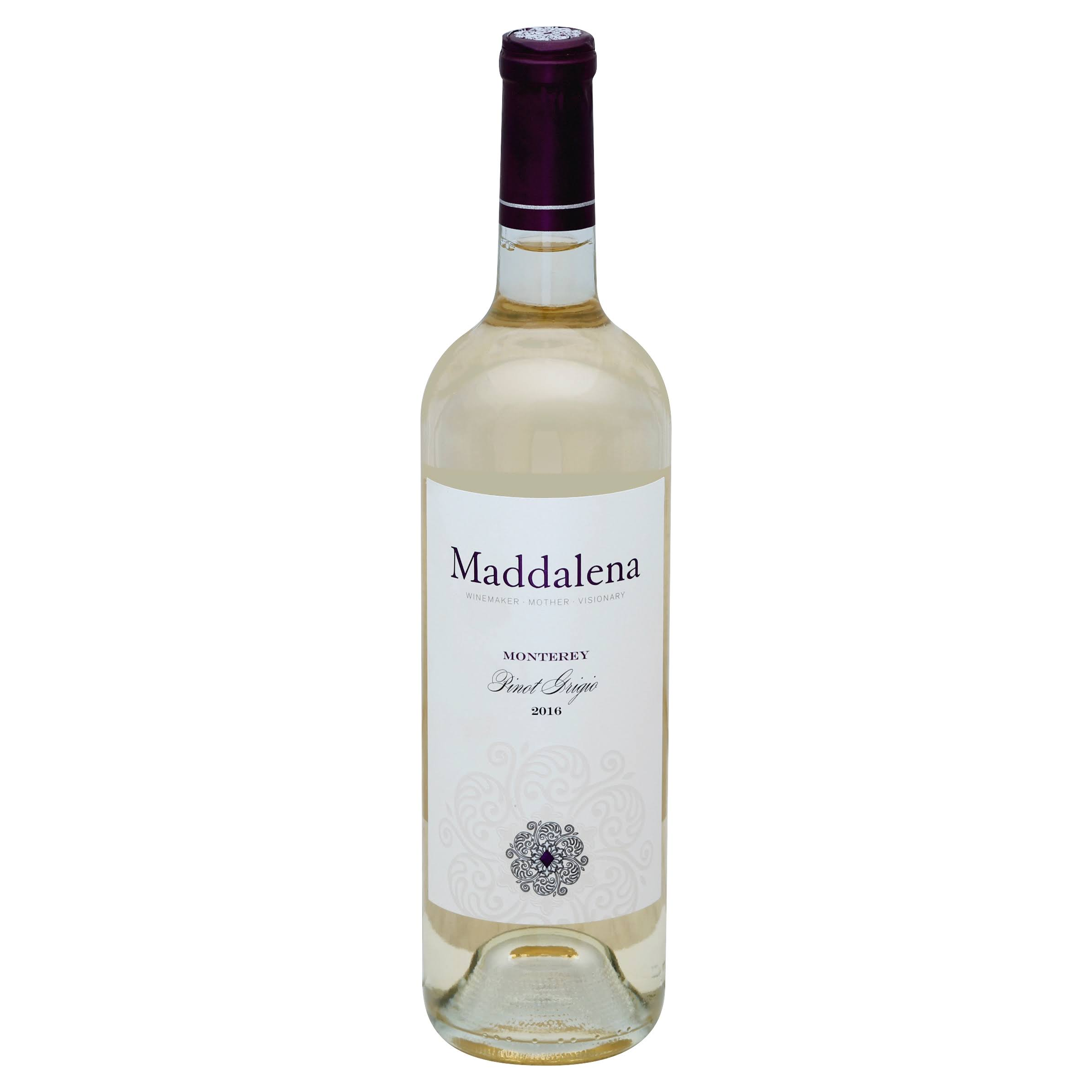 Maddalena Pinot Grigio, Monterey (Vintage Varies) - 750 ml bottle