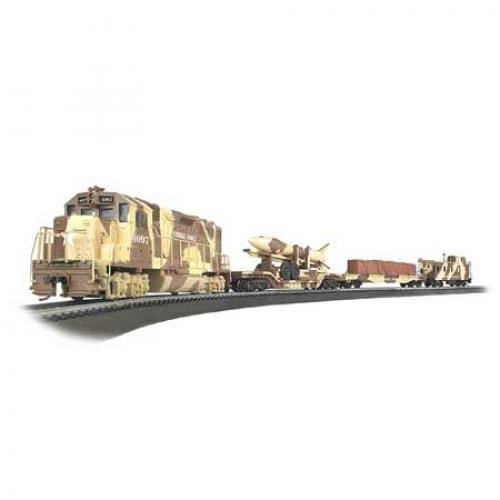 Bachmann BAC00752 Trains Strike Force Ready To Run Electric Train Set - Ho Scale