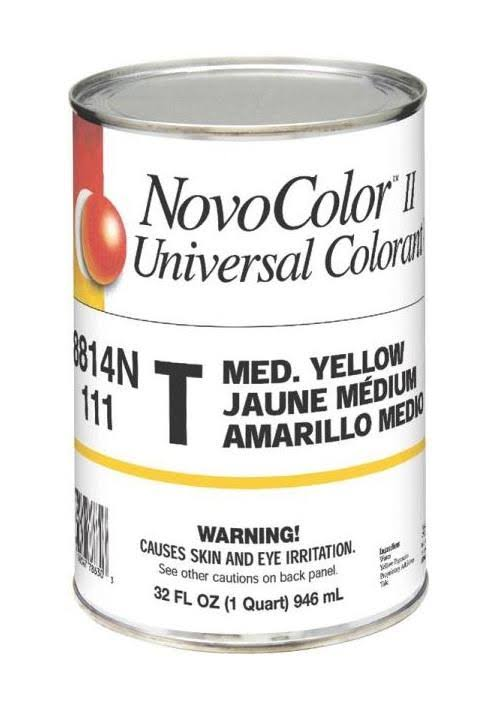 Novocolor II 8814N Universal Colorant - 1qt, T-Medium Yellow