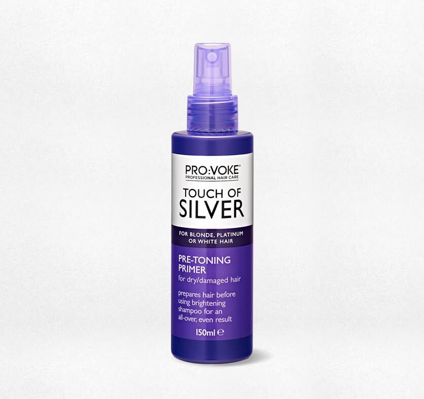 Pro:Voke Touch of Silver Pre-Toning Hair Primer - 150ml