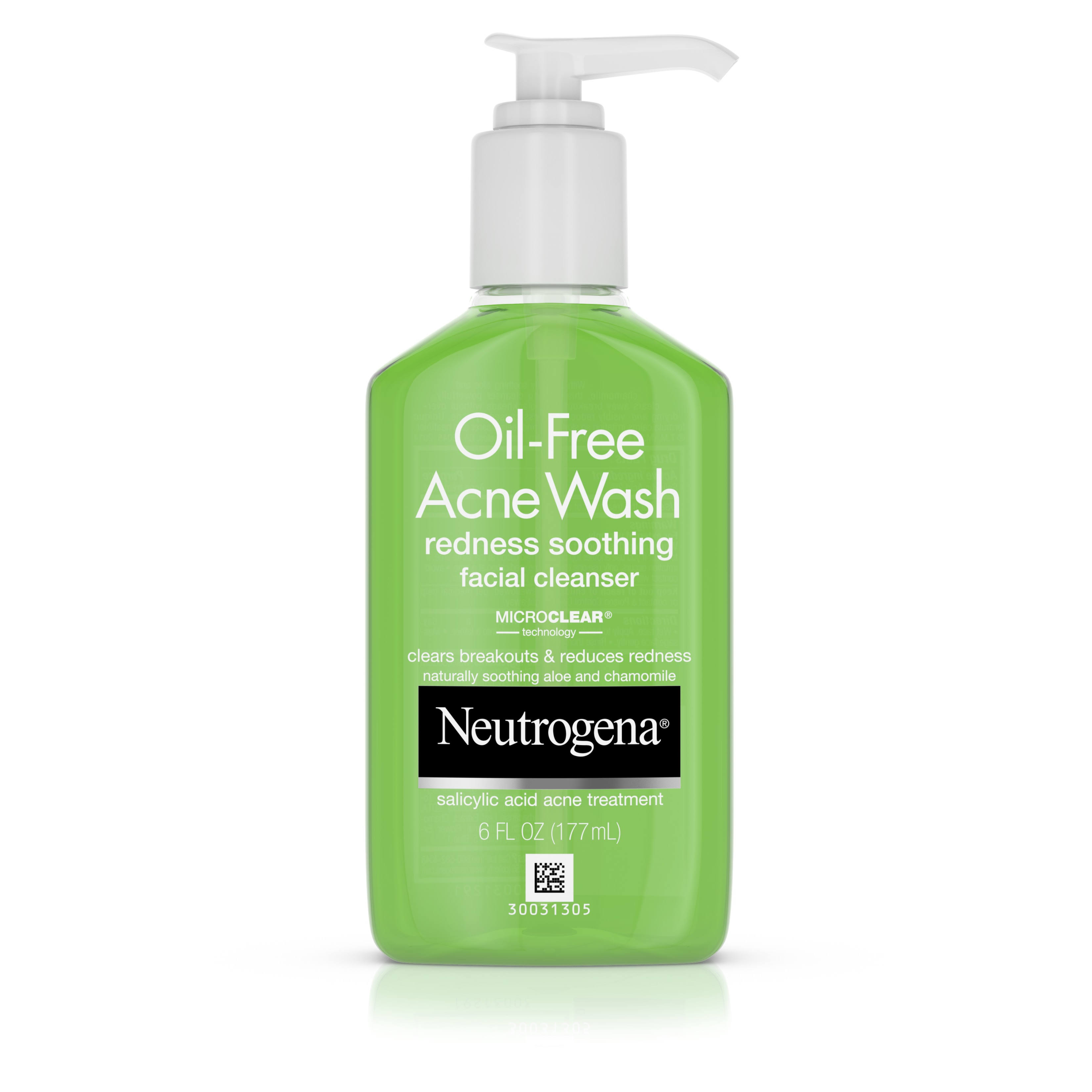 Neutrogena Oil-Free Acne Wash Facial Cleanser - 124ml