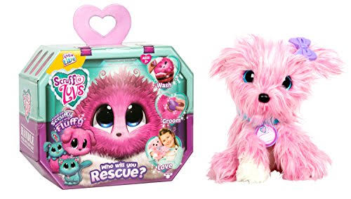 Little Live Scruff A Luvs Puppy Kid Child Toy Rescue Pet Baby Doll - Pink