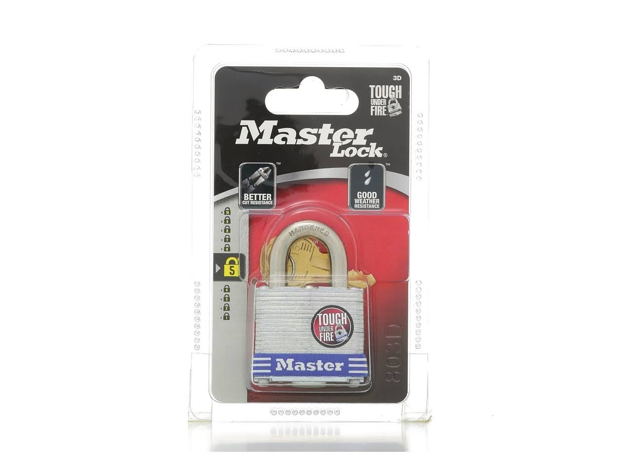 Master Lock 3D High Security Keyed Padlock