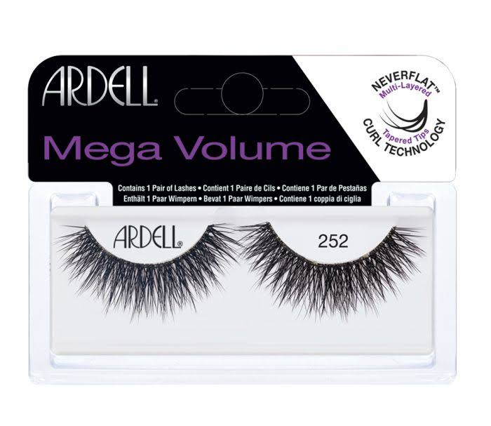 Ardell Mega Volume Never Flat Multi Layered Lashes - #252, 1 Pair