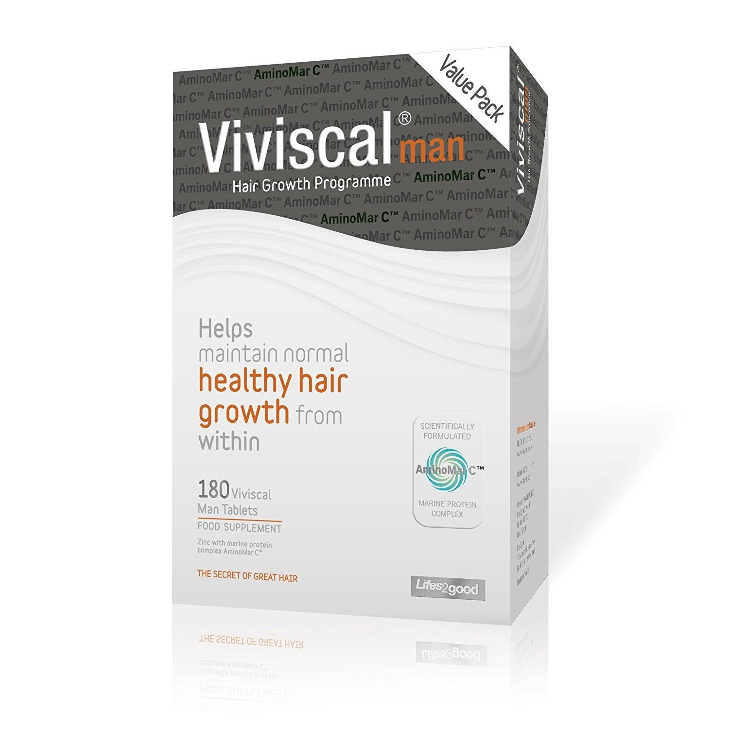 Viviscal Man Value Pack - 180 Tablets