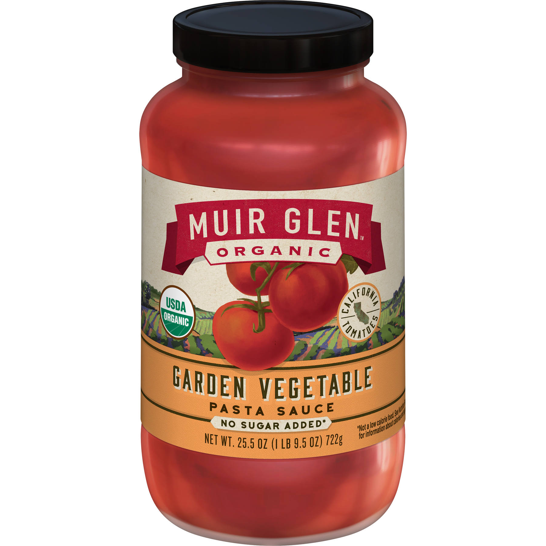 Muir Glen Organic Pasta Sauce - Garden Vegetable