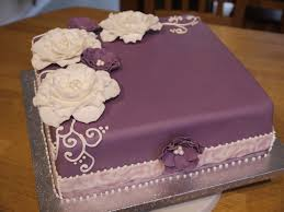 Cake Decoration Ideas For A Man by Best 25 Purple Birthday Cakes Ideas On Pinterest Purple Cakes