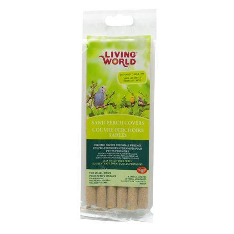 Living World Sand Perch Refill - 6 Pack
